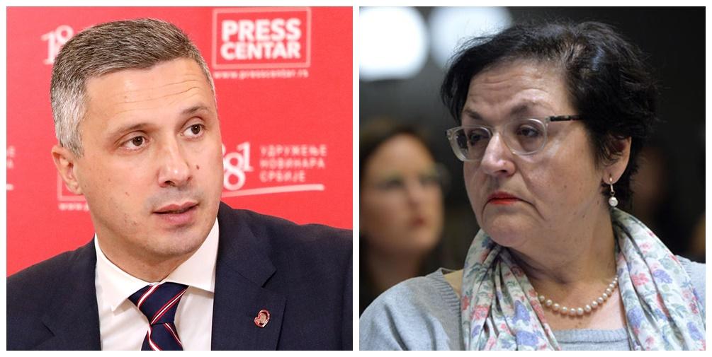 Бошко Обрадовић: А где ће Гордана Чомић водити јавну расправу – у СНС?